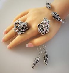 Silver Sea Life Jewelry